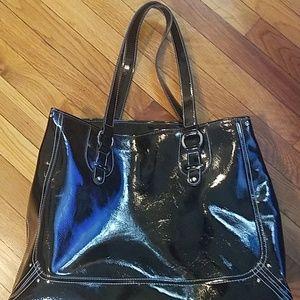 Huge Liz Clairborne patent leather